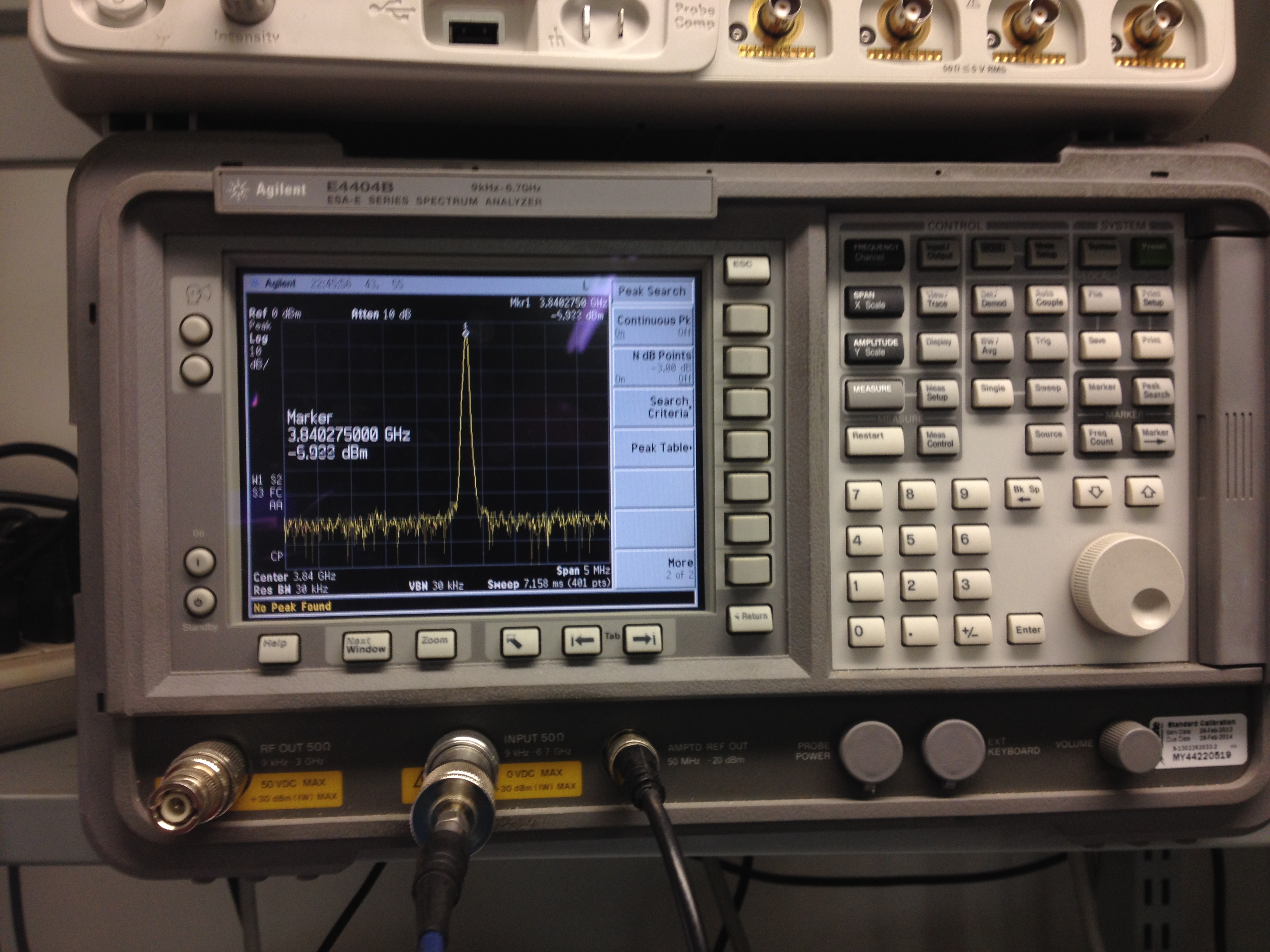 Post alignment of the VCO