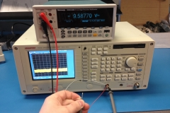 Measuring the VCO control from the PLL
