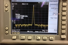 Blurry shot during VCO alignment