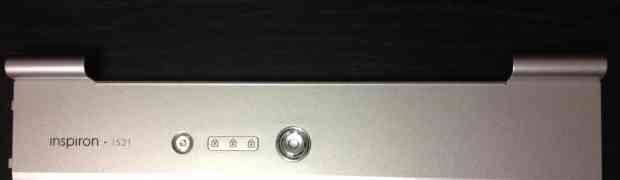 Inspiron 1521 Power Button and Hinge Cover, 0RT880, RT880