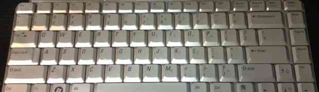 Dell Inspiron Keyboard 1521, 1420, 1525, 1526, 1520, XPS M1330, and XPS M1530- NK750